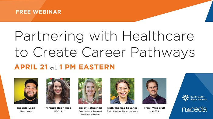 Partnering with Healthcare to Create Career Pathways