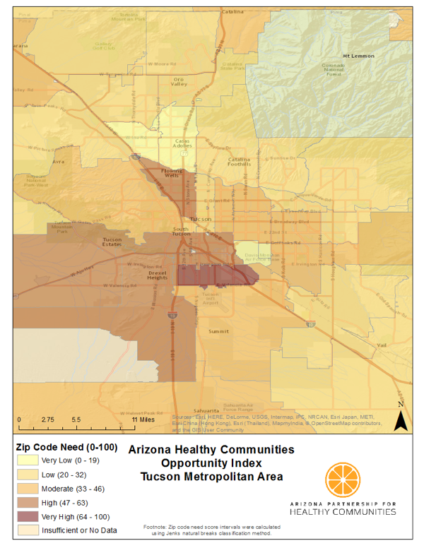 Tucson Map
