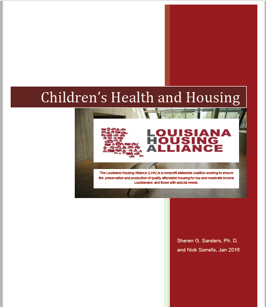 Children's Health and Housing