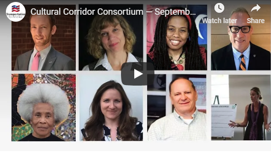 Cultural Corridor Consortium webinar